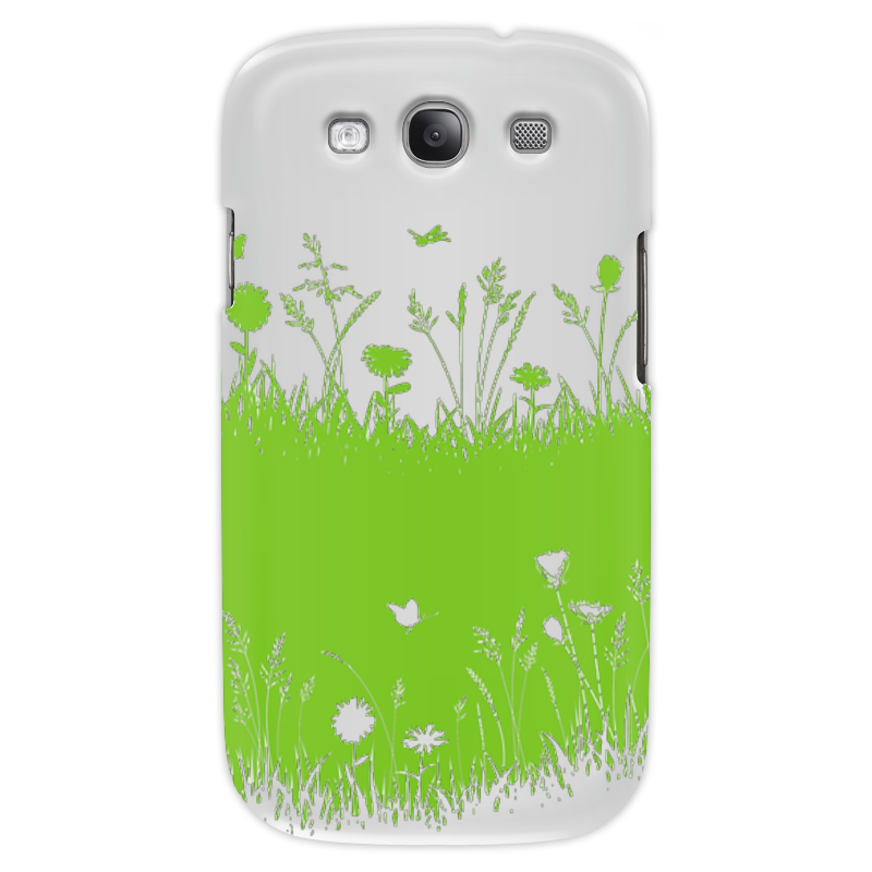 Чехол для Samsung Galaxy S3 Printio Летняя трава
