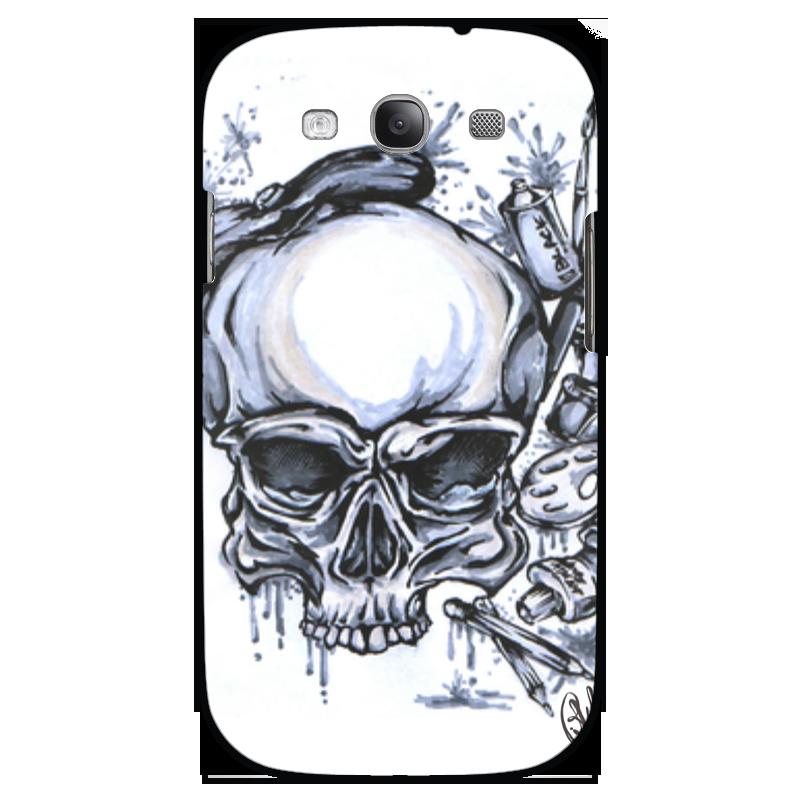 Чехол для Samsung Galaxy S3 Printio Череп художник чехол для samsung galaxy s5 printio череп художник