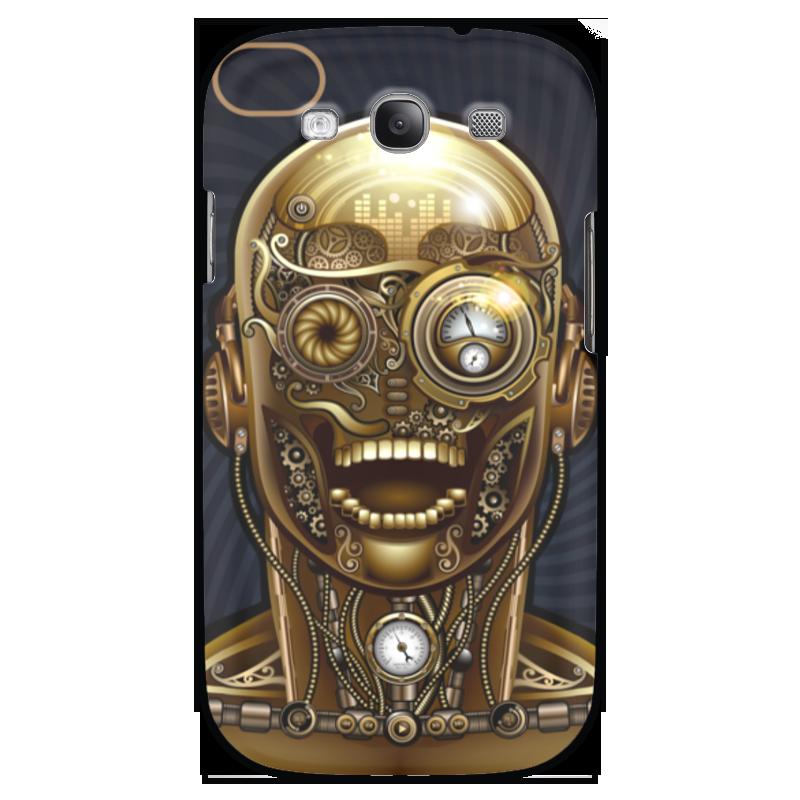 Чехол для Samsung Galaxy S3 Printio Стимпанк-голова чехол для samsung galaxy s3 printio череп художник