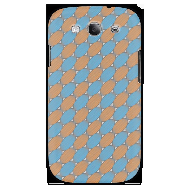 Чехол для Samsung Galaxy S3 Printio Овальный узор sahar cases чехол узор с маленькими сердечками samsung galaxy s3
