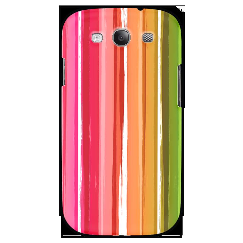 Чехол для Samsung Galaxy S3 Printio Радуга купить чехол для samsung galaxy s3 melkco