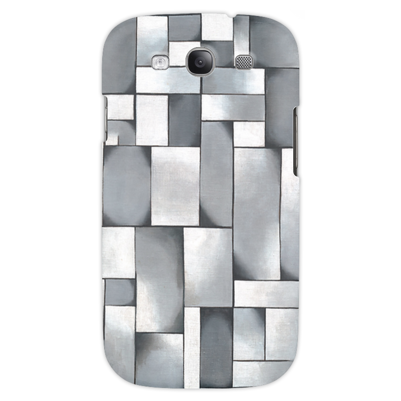 Чехол для Samsung Galaxy S3 Printio Композиция в сером чехол для samsung galaxy s5 printio композиция в сером