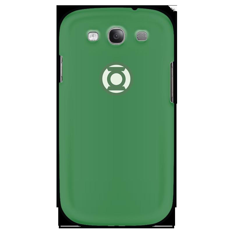 Чехол для Samsung Galaxy S3 Printio Зеленый фонарь