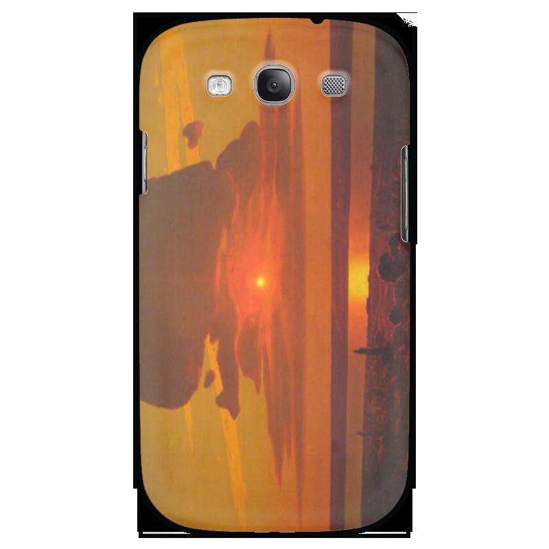 Чехол для Samsung Galaxy S3 Printio Красный закат (картина архипа куинджи) чехол для blackberry z10 printio север картина архипа куинджи