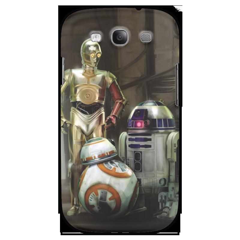Чехол для Galaxy S3 Printio wars