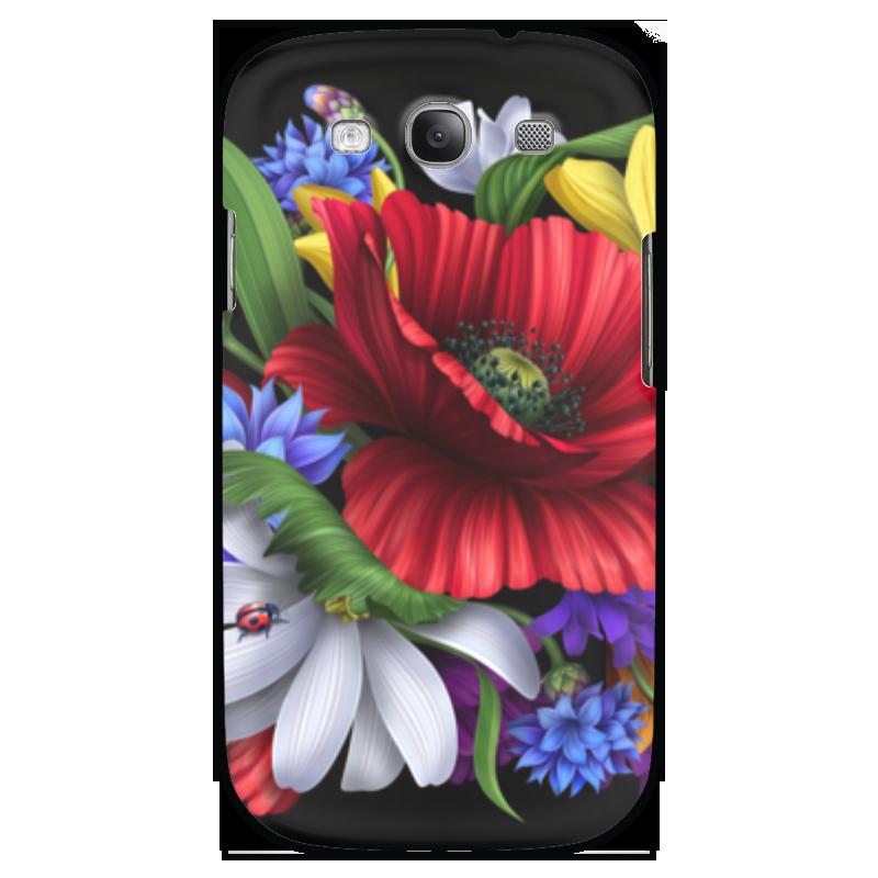 Чехол для Samsung Galaxy S3 Printio Композиция цветов композиция из цветов и конфет
