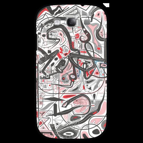 "Чехол для Samsung Galaxy S3 ""Mamewax"" - арт, узор, абстракция, фигуры, медитация"