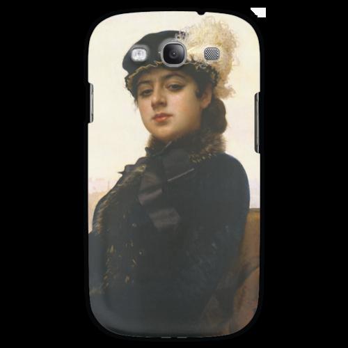 "Чехол для Samsung Galaxy S3 ""Неизвестная (картина Крамского)"" - картина, крамской"