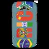 "Чехол для Samsung Galaxy S3 ""BRICS - БРИКС"" - россия, китай, индия, бразилия, юар"