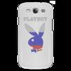 """Чехол для Samsung Galaxy S3 """"Playboy Россия"""" - плейбой, плэйбой, россия, зайчик, playboy"""