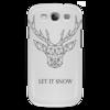"""Чехол для Samsung Galaxy S3 """"Dear Deer"""" - рисунок, дизайн, олень, минимализм, рога"""