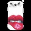 """Чехол для Samsung Galaxy S3 """"Губы алые"""" - в подарок"""