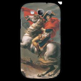 "Чехол для Samsung Galaxy S3 ""Наполеон на перевале Сен-Бернар (Жак-Луи Давид)"" - картина, давид"