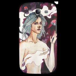 "Чехол для Samsung Galaxy S3 ""darklight"" - арт, стиль, рисунок, arishap, blue, girl"