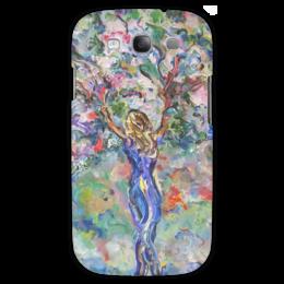 """Чехол для Samsung Galaxy S3 """"Дерево жизни"""" - девушка, мечты, радость"""