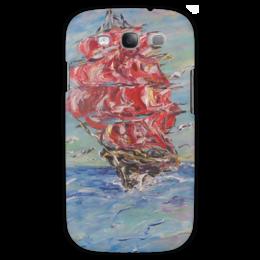 "Чехол для Samsung Galaxy S3 ""Алые паруса"" - романтика, море, весна, красота, корабль"