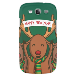 """Чехол для Samsung Galaxy S3 """"С Новым годом!"""" - гесс, праздник, событие, новые год, рождество"""