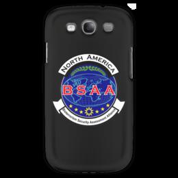 "Чехол для Samsung Galaxy S3 ""Resident Evil. BSAA"" - resident evil, umbrella, re, bsaa"