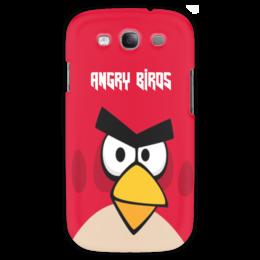 "Чехол для Samsung Galaxy S3 ""Angry Birds (Terence)"" - terence, компьютерная игра, мультфильм, angry birds, злые птички"