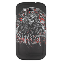 "Чехол для Samsung Galaxy S3 ""Slipknot"" - метал, slipknot, петля, удавка"