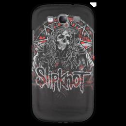 "Чехол для Samsung Galaxy S3 ""Slipknot"" - slipknot, метал, петля, удавка"