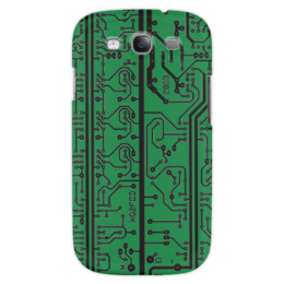 "Чехол для Samsung Galaxy S3 ""Электроника"" - электроника, наука, техника, дизайн"