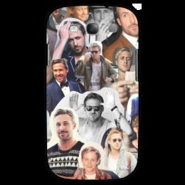 "Чехол для Samsung Galaxy S3 ""Райан Гослинг"" - коллаж, collage, райан гослинг, ryan gosling"