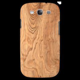 "Чехол для Samsung Galaxy S3 ""фактура дерева"" - текстура, wood, коричневое дерево"