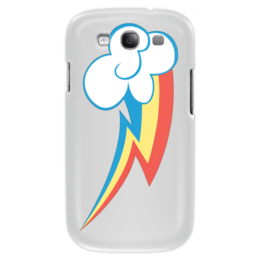 "Чехол для Samsung Galaxy S3 ""My little pony- Rainbow Dash "" - mlp, pony, my little pony, rainbow dash, радуга дэш, пони"