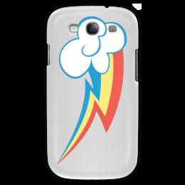 "Чехол для Samsung Galaxy S3 ""My little pony- Rainbow Dash "" - pony, rainbow dash, mlp, my little pony, пони, радуга дэш"