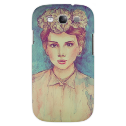 "Чехол для Samsung Galaxy S3 ""пин ап"" - girl, рисунок, drawing"