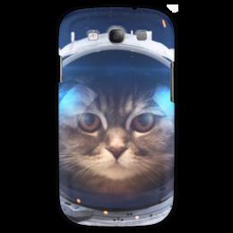 """Чехол для Samsung Galaxy S3 """"Котосмонавт"""" - кот, космос, животное, костюм"""