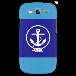 "Чехол для Samsung Galaxy S3 ""Морской разведчик"" - море, якорь, канат"