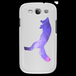 "Чехол для Samsung Galaxy S3 ""Space animals"" - space, космос, fox, лиса, астрономия"