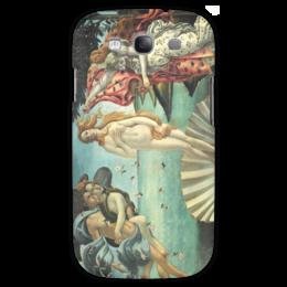 "Чехол для Samsung Galaxy S3 ""Рождение Венеры (Сандро Боттичелли)"" - картина, боттичелли"