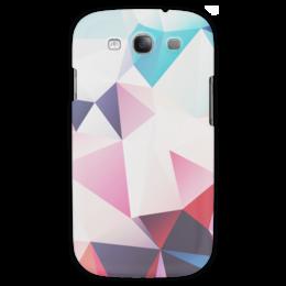 """Чехол для Samsung Galaxy S3 """"Абстракция"""" - арт, абстракция, полигоны"""