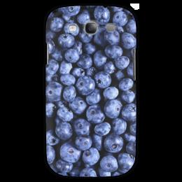 "Чехол для Samsung Galaxy S3 ""Черника"" - ягоды, blueberry"