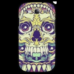 """Чехол для Samsung Galaxy S3 """"Пряный Джек."""" - арт, skull, череп, teeth, зубы"""