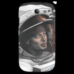 "Чехол для Samsung Galaxy S3 ""SpaceX"" - космос, маск, spacex, вселенная, thespaceway"