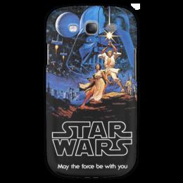"Чехол для Samsung Galaxy S3 ""Star wars"" - космос, кино, star wars, фильмы, darth vader, звездные воины, дарт вейдер, джедай"