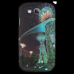 "Чехол для Samsung Galaxy S3 ""Сады будущего"" - future, фэнтэзи, marina bay garden, сады будущего"