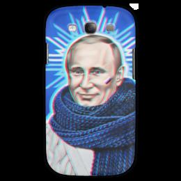 "Чехол для Samsung Galaxy S3 ""Владимир Путин"" - путин, 3d, putin, владимир путин"