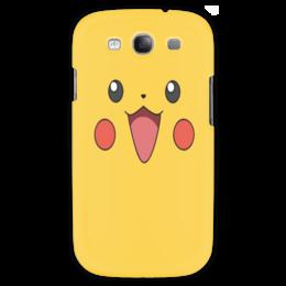 "Чехол для Samsung Galaxy S3 ""Pikachu"" - для детей, pokemon, покемон, пикачу, pikachu"