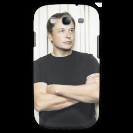 """Чехол для Samsung Galaxy S3 """"Илон Маск"""" - космос, маск, spacex, вселенная, thespaceway"""