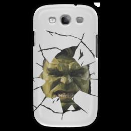 "Чехол для Samsung Galaxy S3 ""Hulk / Халк"" - hulk, marvel, мстители, халк, kinoart"