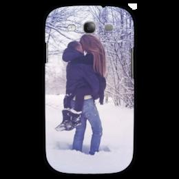 "Чехол для Samsung Galaxy S3 ""*Любовь*"" - любовь, winter, snow, снег"