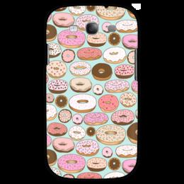 "Чехол для Samsung Galaxy S3 ""Пончики"" - еда, ретро, сладости, пончики, donuts"