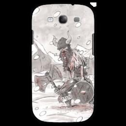 "Чехол для Samsung Galaxy S3 ""Викинг. После боя."" - путь воина, история, викинги, vikings"