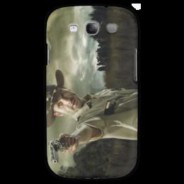"""Чехол для Samsung Galaxy S3 """"Ходячие мертвецы"""" - зомби, сериал, ходячие, рик, главный герой"""
