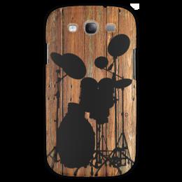"""Чехол для Samsung Galaxy S3 """"Сцена"""" - стиль, деревянный, музыкальные"""